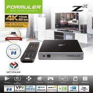 BOX MULTIMEDIA Formuler Zx Récepteur IPTV Multimedia Android 7.0
