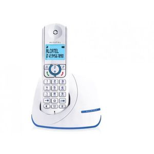 Téléphone fixe Téléphone fixe Alcatel F390 Solo Bleu