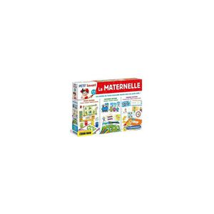LIVRE D'ÉVEIL La Maternelle 3-6 ans - Clementoni - Jeux educatif