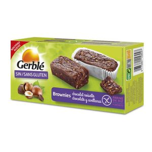 BISCUITS SECS GERBLE Brownie sans gluten - Chocolat noisette - 1