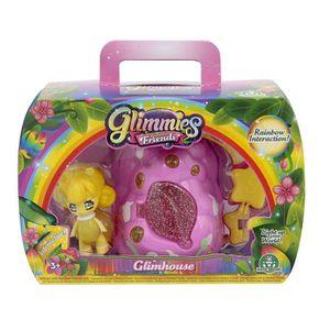 FIGURINE - PERSONNAGE GLIMMIES Rainbow Friends GlimHouse Maison Buisson