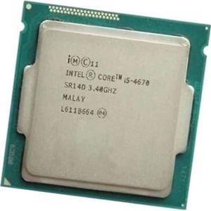 PROCESSEUR Processeur CPU Intel 4 Core I5-4670 SR14D 3.40Ghz