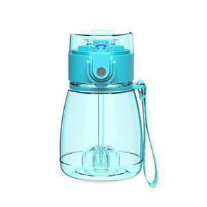 TASSE D'APPRENTISSAGE Tasse d'eau avec paille mini portable pour étudian