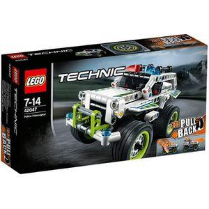 ASSEMBLAGE CONSTRUCTION LEGO® Technic 42047 La Voiture d'Intervention De P
