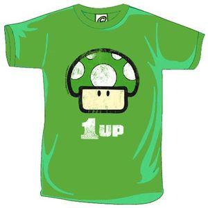 T-SHIRT Tee-shirt 1UP Mushroom Nintendo