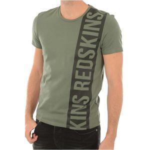 T-SHIRT Tee shirt stretch logoté Rafting -REDSKINS Vert Ho