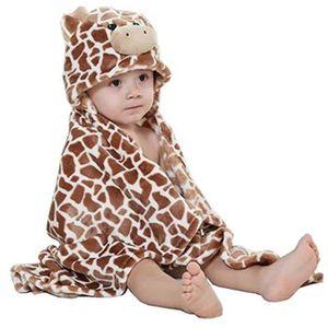 ROBE DE CHAMBRE Robe de Chambre Polaire Enfant à Capuche Animaux p