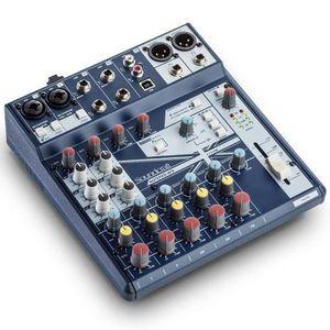 TABLE DE MIXAGE Soundcraft NotePad-8FX - Console de mixage 8 voies