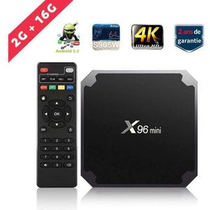 BOX MULTIMEDIA SUNNZO S9Mini Smart TV BOX Android 9.0 OS RK3318 Q