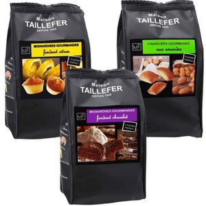 BISCUITS SECS MAISON TAILLEFER  Lot de 9 paquets : 3 mini financ