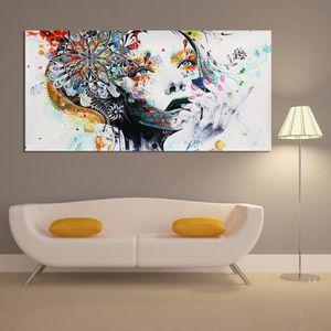 TABLEAU - TOILE TEMPSA Peinture à Huile Tableau de Toile Art Abstr