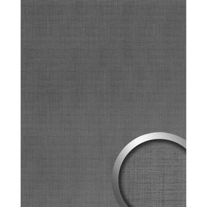 TRAITEMENT MEUBLE BOIS Panneau mural aspect métal WallFace 20204 Refined