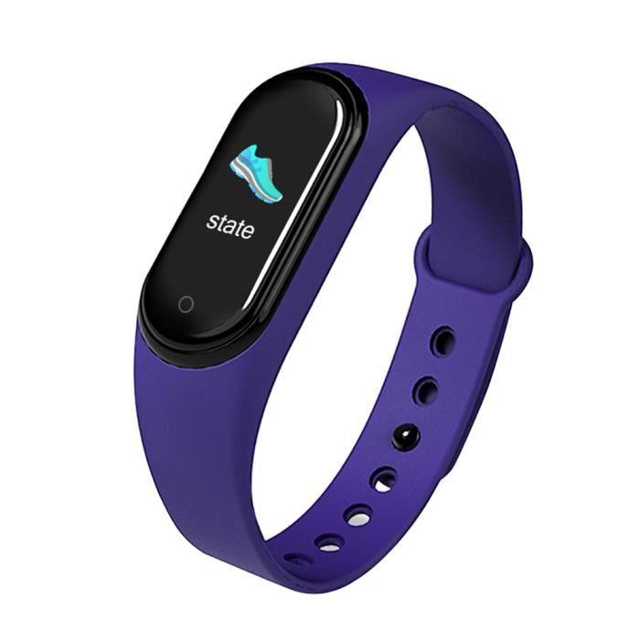 M5 montre d'appel Bluetooth intelligent , Bracelet de connectée sport musique avec écran couleur