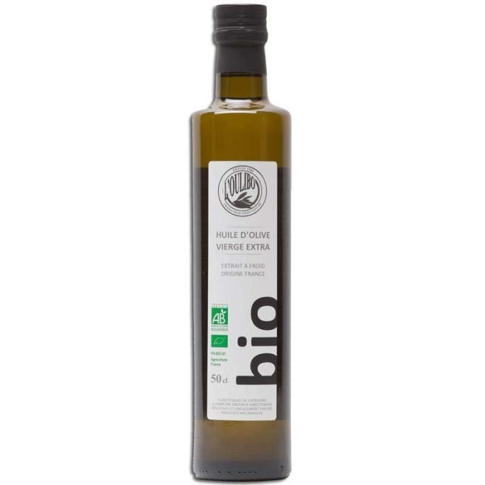 Huile d'olive vierge extra Bio 50cl L'Oulibo