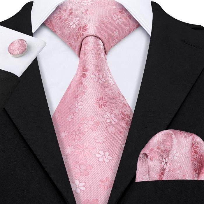 Barry. Wang Designers or Floral hommes cravates 8.5cm de large soie cravate Hanky coffret cadeaux pour hommes mariage [86E3A07]