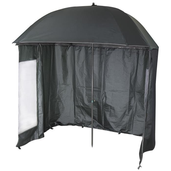 VTK Fishing - Parapluie-Tente de Pêche - 2m20 - Shelter - Inclinable - 210T Super Coated