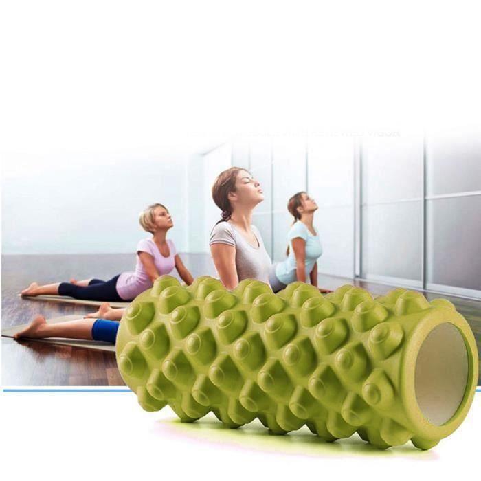 33cm Yoga Pilates Massage Fitness Gym Trigger Point Exercice Mousse Rouleau DPP61227562GN
