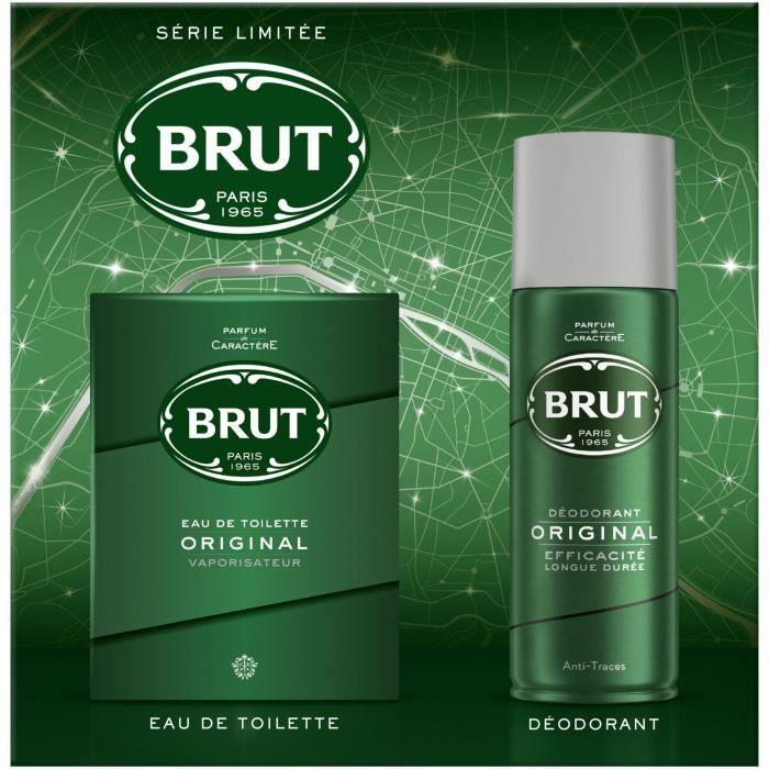 BRUT Coffret Déodorant & Eau de Toilette Original