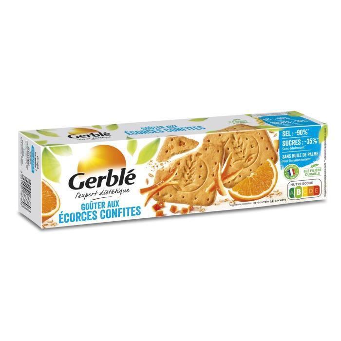 Biscuit écorces confites 360g Gerblé