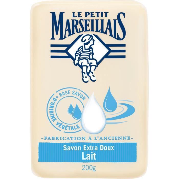 LE PETIT MARSEILLAIS Savon lait fabrication à l'ancienne - 200 g