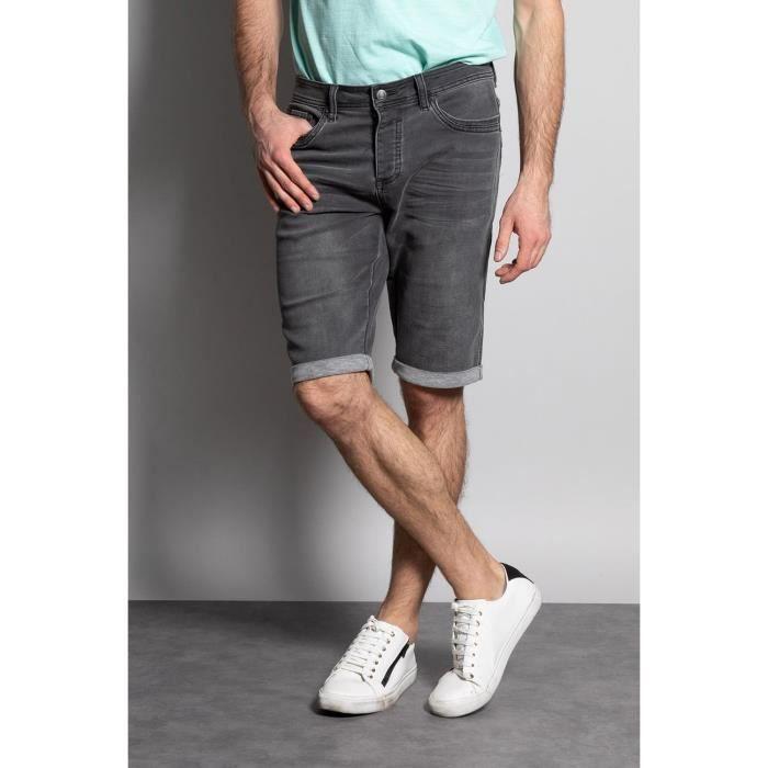 DEELUXE Short jogg jean délavé BART Grey Used