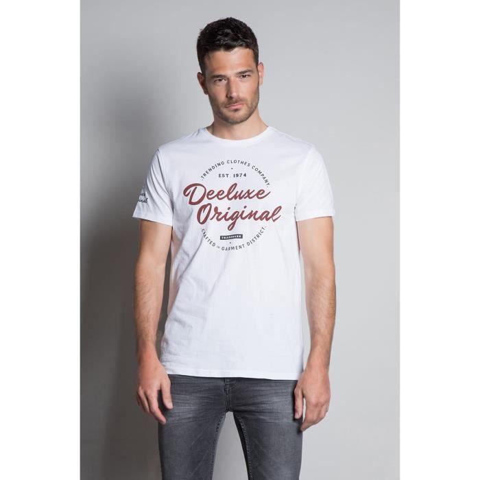 DEELUXE T-shirt avec logo KOBE White