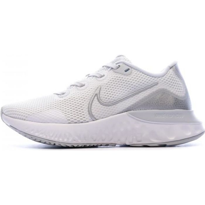 Baskets Blanches Femme Nike Renew Run