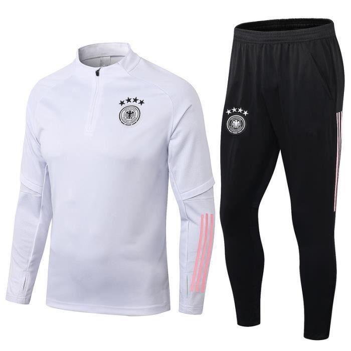 Survêtements Foot Homme Allemagne - Maillot Foot Homme 20-21 Survêtements Foot Maillot de Foot - Haut et Pantalon