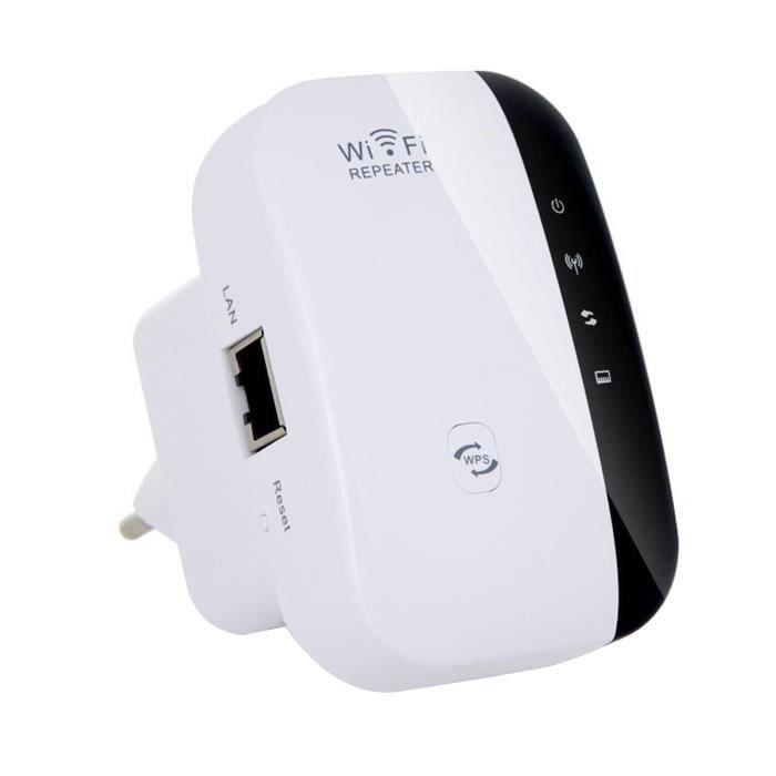 Repeteur / Booster de signal sans fil WiFi extender 300M WLAN 802.11n/g/b WPS