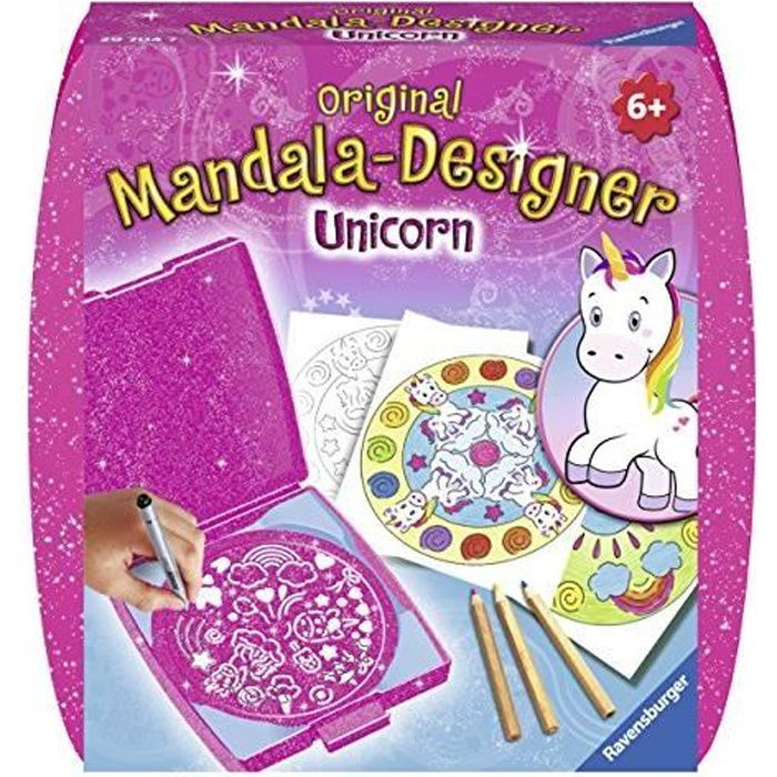 RAVENSBURGER - Mandala mini Unicorn
