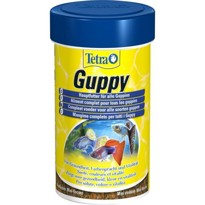 TETRA Guppy 100 ml - Pour poisson