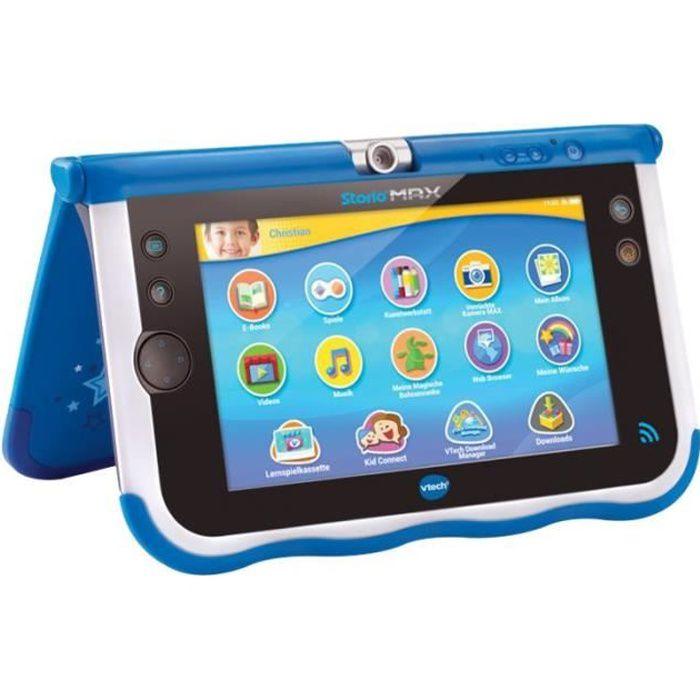 VTech StorioMax 7 Tablette Android 4.2.2 (Jelly Bean) 8 Go 7- (1024 x 600) Logement microSD bleu