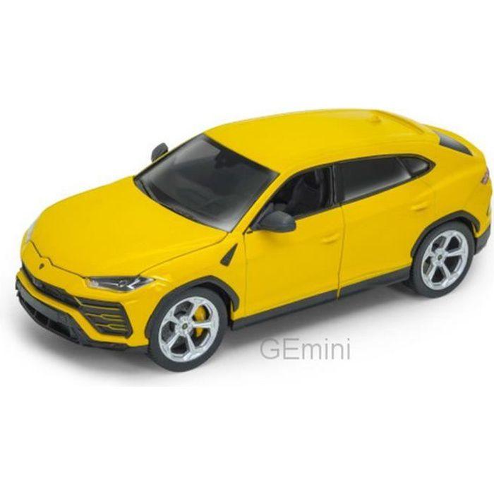 Miniature montée - Lamborghini Urus Jaune 1-24 Welly
