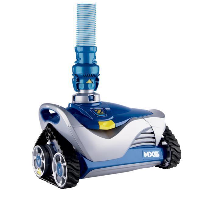 Robot de piscine hydraulique MX6 ZODIAC - Fond & Parois