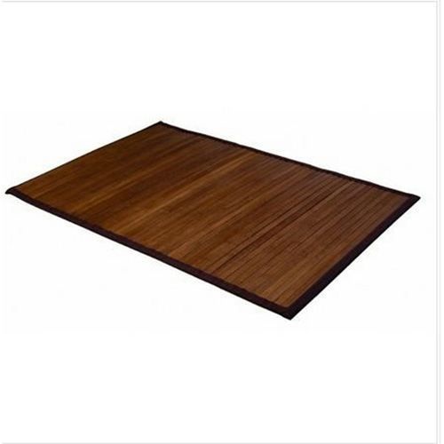 tapis color en bambou 60 x 90 cm taupe achat. Black Bedroom Furniture Sets. Home Design Ideas