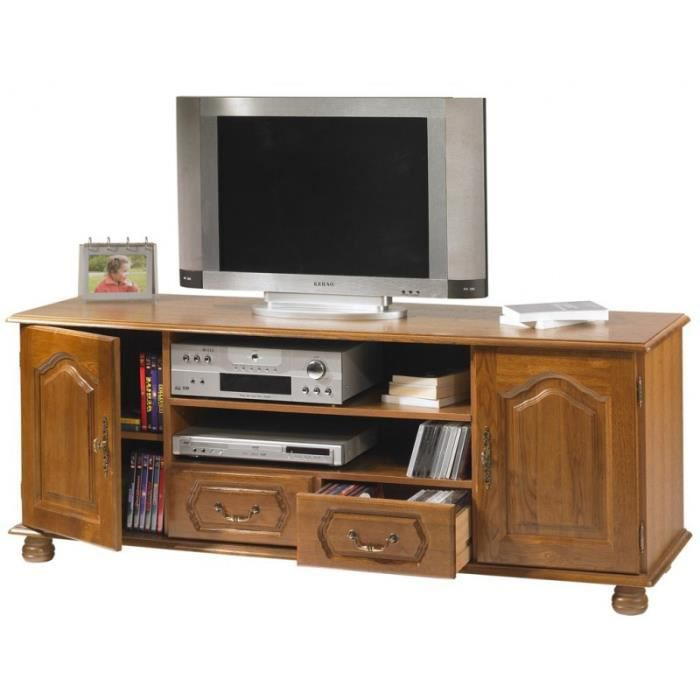 meuble banc tele video style louis xiv achat vente. Black Bedroom Furniture Sets. Home Design Ideas