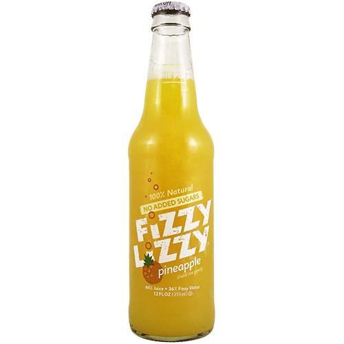 Fizzy Lizzy Pineapple Sparkling Juice 12OZ (355ml) - 12 Bottles[Import ...