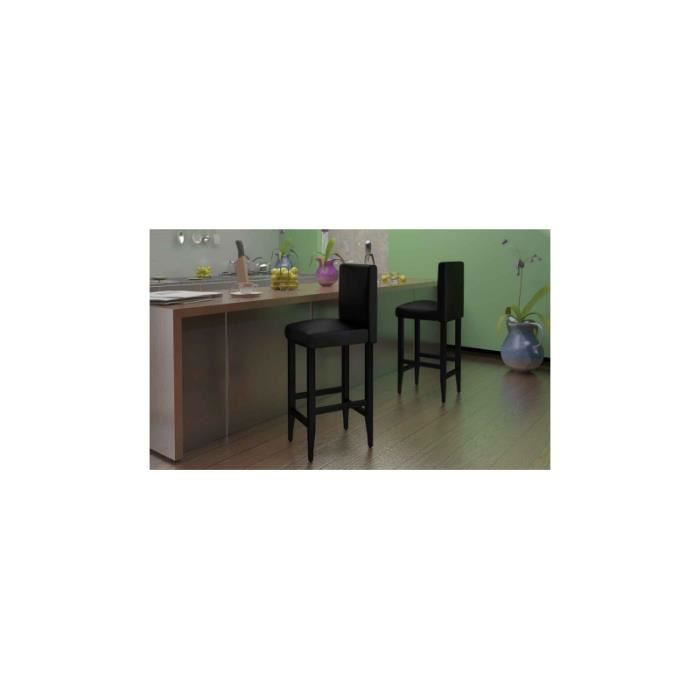 lot de 2 tabouret de bar achat vente tabouret de bar. Black Bedroom Furniture Sets. Home Design Ideas