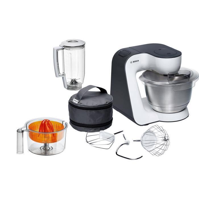 BOSH MUM50123 Kitchen machine - 800W - 4 vitesses + pulse -...