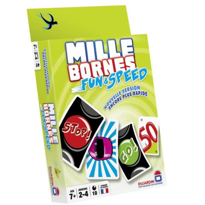 mille bornes fun and speed achat vente cartes de jeu cdiscount. Black Bedroom Furniture Sets. Home Design Ideas