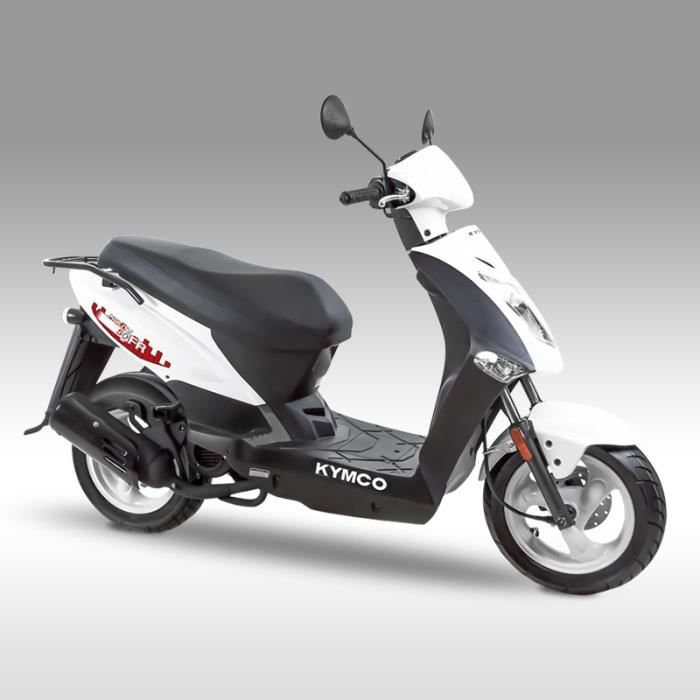 kymco agility 50cc fr 2t blanc achat vente scooter kymco agility 50cc fr 2t bl cdiscount. Black Bedroom Furniture Sets. Home Design Ideas