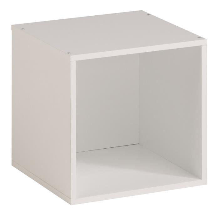 CASIER POUR MEUBLE Étagère cube KUBO aille unique Blanc