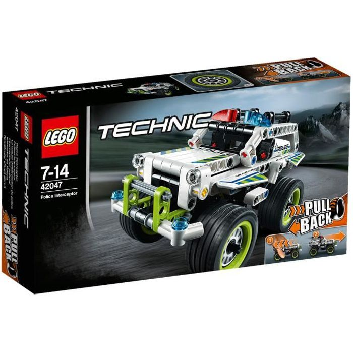 lego technic 42047 la voiture d 39 intervention de police achat vente assemblage construction. Black Bedroom Furniture Sets. Home Design Ideas