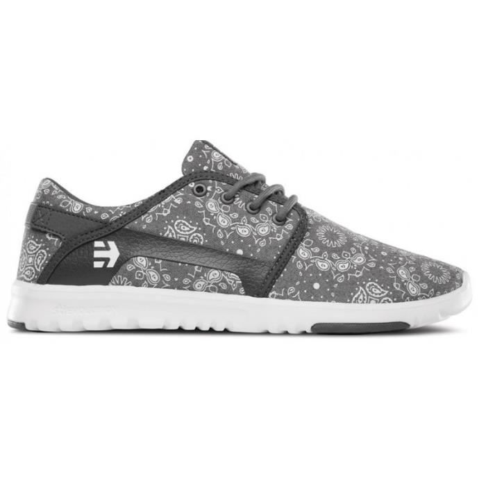 CHAUSSURES ETNIES SCOUT DARK GREY WHITE skateshoes