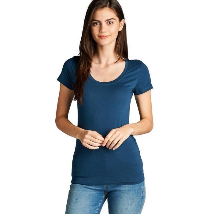 t-shirt femme basique