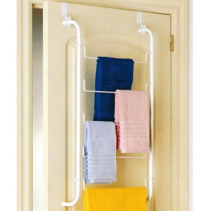 Porte serviettes pour portes achat vente porte for Decoration porte serviette