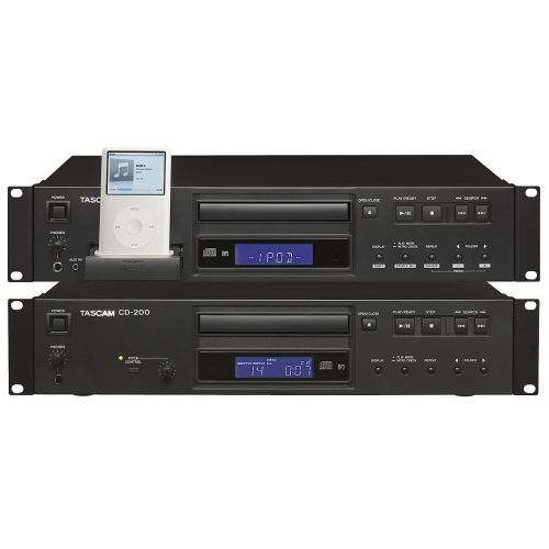 tascam cd200i lecteur cd avec slot ipod platine cd avis. Black Bedroom Furniture Sets. Home Design Ideas