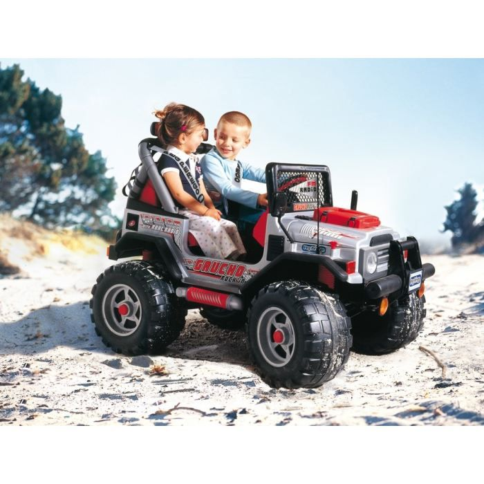peg perego voiture 4x4 electrique enfant gaucho rock 39 in 12 volts achat vente voiture enfant. Black Bedroom Furniture Sets. Home Design Ideas