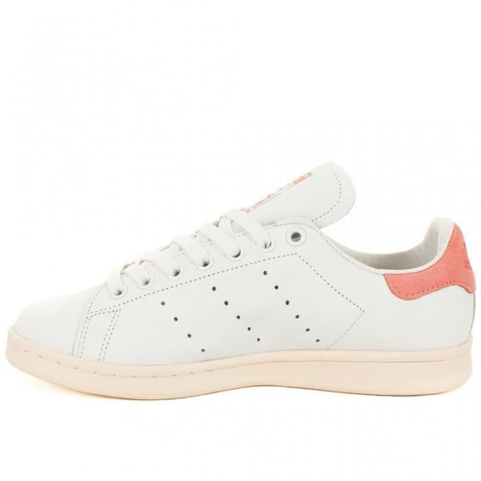 ... Chaussures Stan Smith - Blanche et Rose | Adidas Originals 7vKe8z