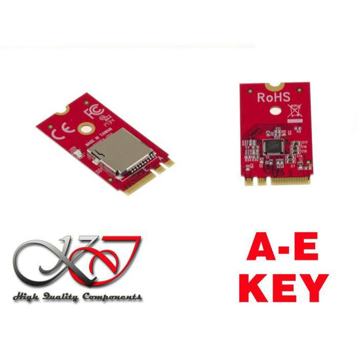 Support UHS-I Cartes TF//Micro SD//Micro SDXC//SDHC Micro//Mini SD SDHC//MMC Rocketek Mini USB 3.0 Lecteur de Carte m/émoire//Writer avec 3 emplacements pour Carte SD//SDXC